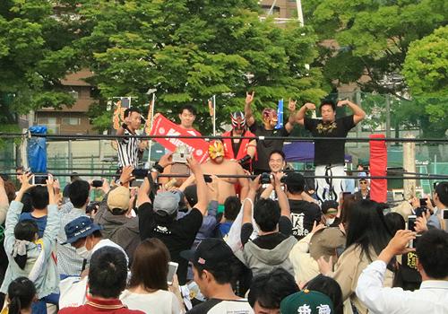 野崎プロレスをぶっ潰せっ!