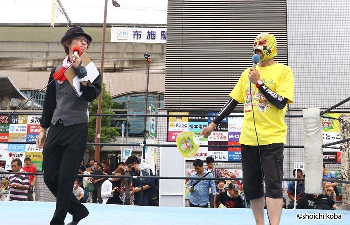 今年もメインMCはTU-KOとマスクド東大阪。このコンビも成熟の域か???